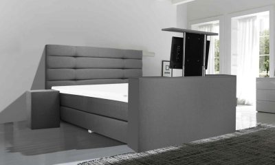 Boxspring XXL Nordic met tv lift