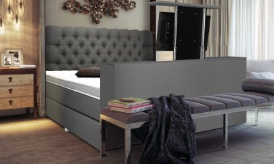 Boxspring luxury nice met tv lift