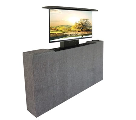 boxspring tv meubel voetbord